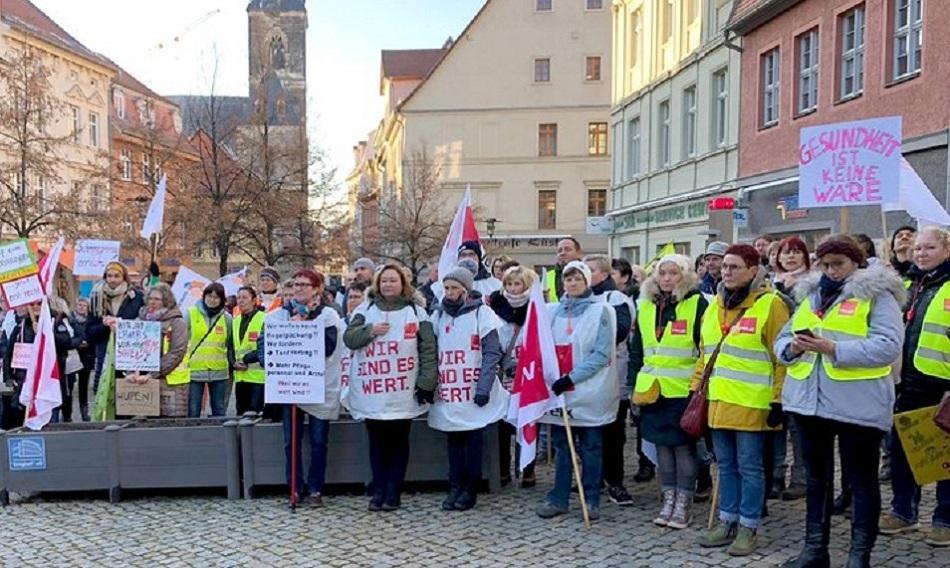 Ameos strike Germany