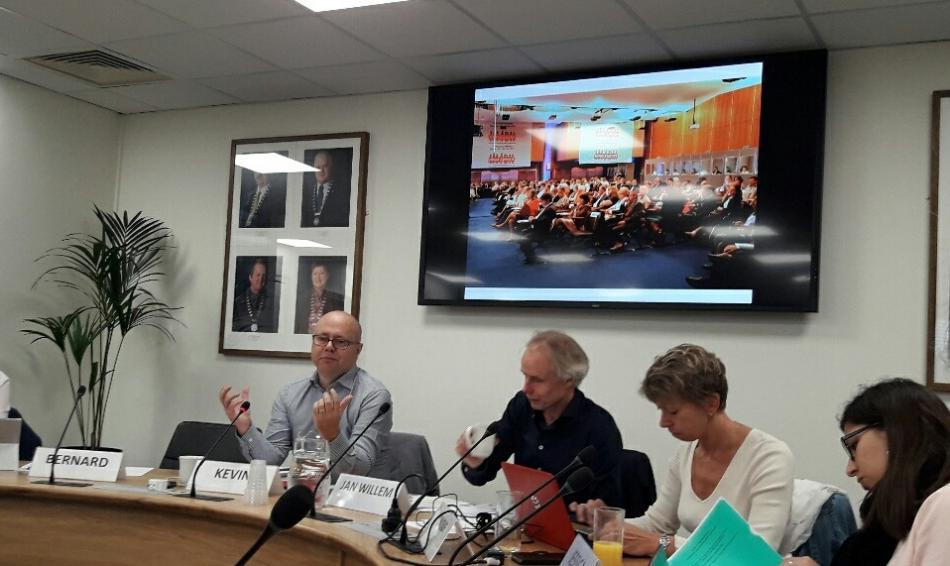Preparatory meeting EPSU Congress 2019, Dublin, 27 September 2017