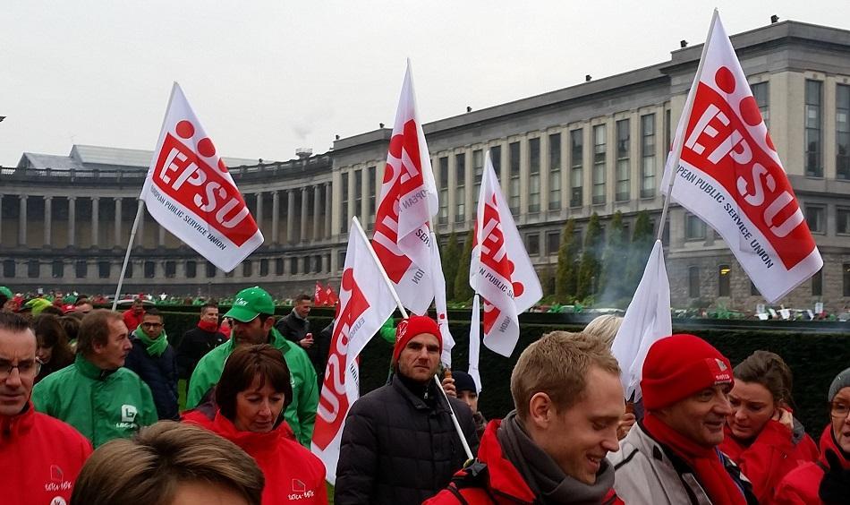 Demonstration Brussels 8 November 2017 Social Rights First