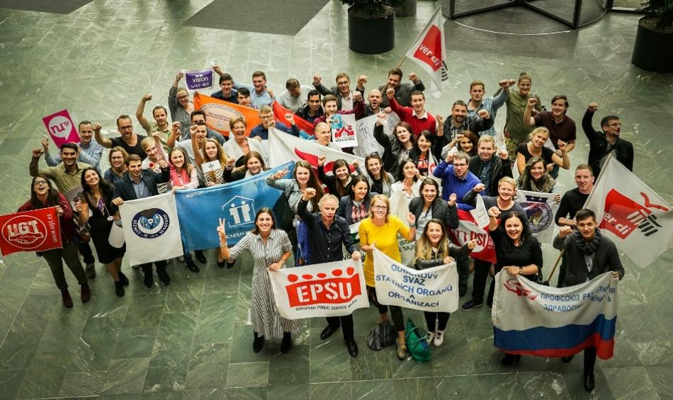EPSU Youth meeting (solidarity, Ver.di) 08092017, Berlin