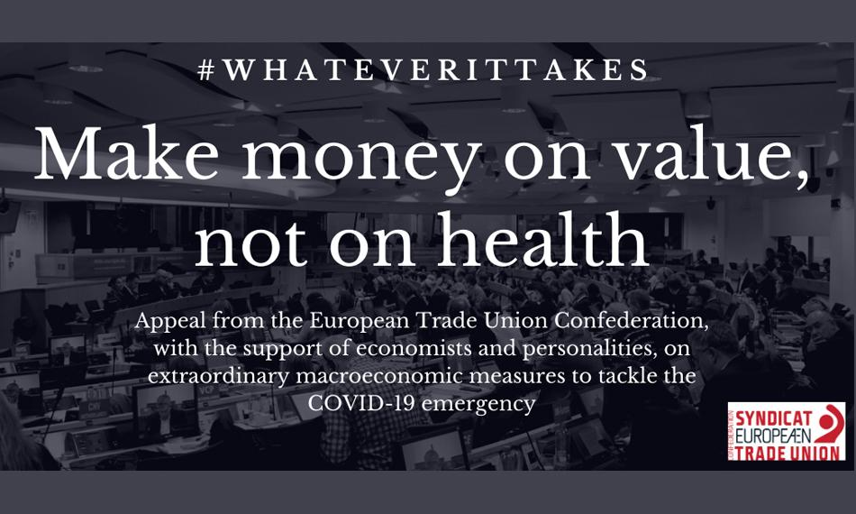 ETUC Whatever it takes