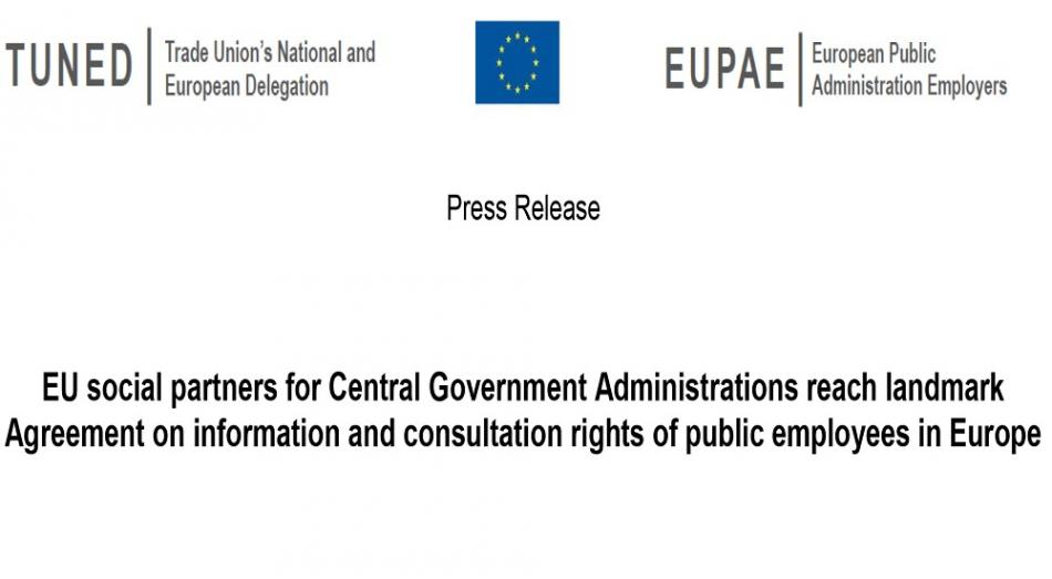 EUPAE-TUNED PR information & consultation rights agreement