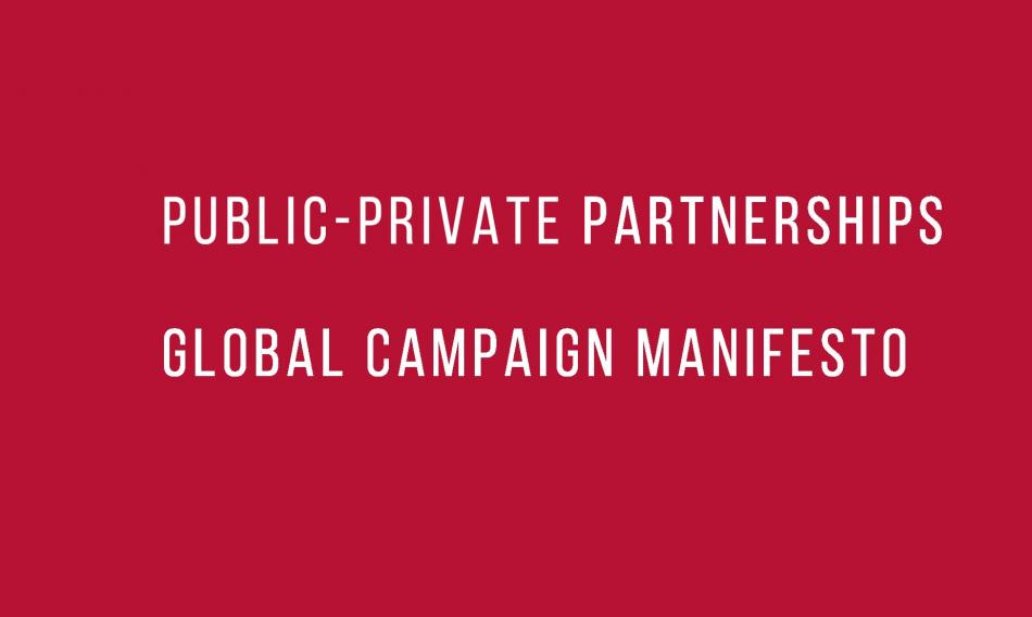 Eurodad PPP Global Campaign Manifesto