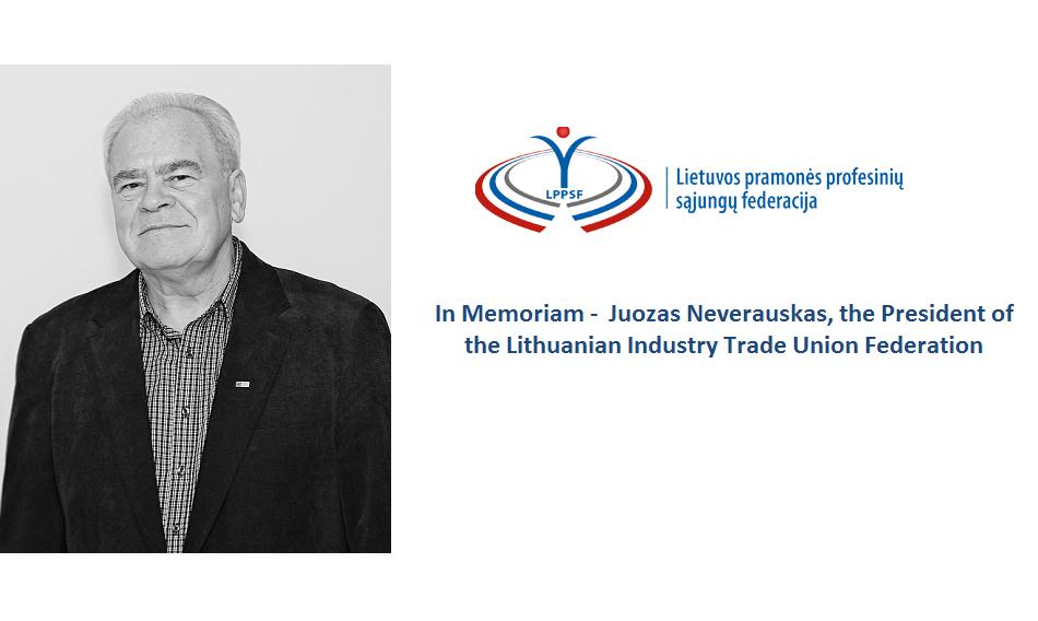 In memoriam of Juozas Neverauskas