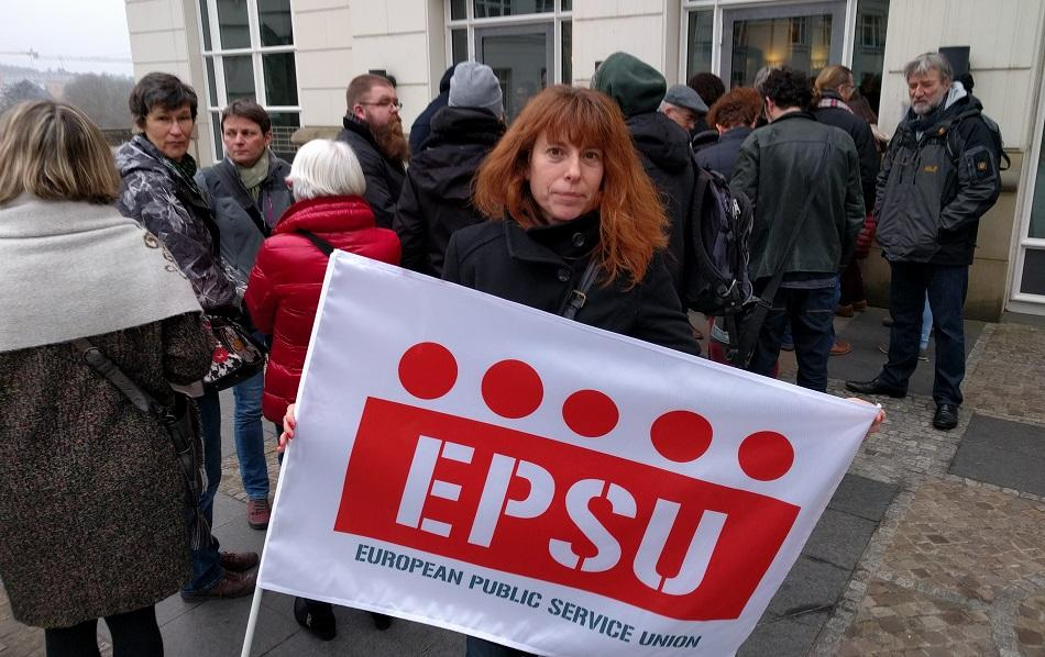 EPSU Policy staff Nadja Salson National and European Administration, Prisons services, Tax, Defence