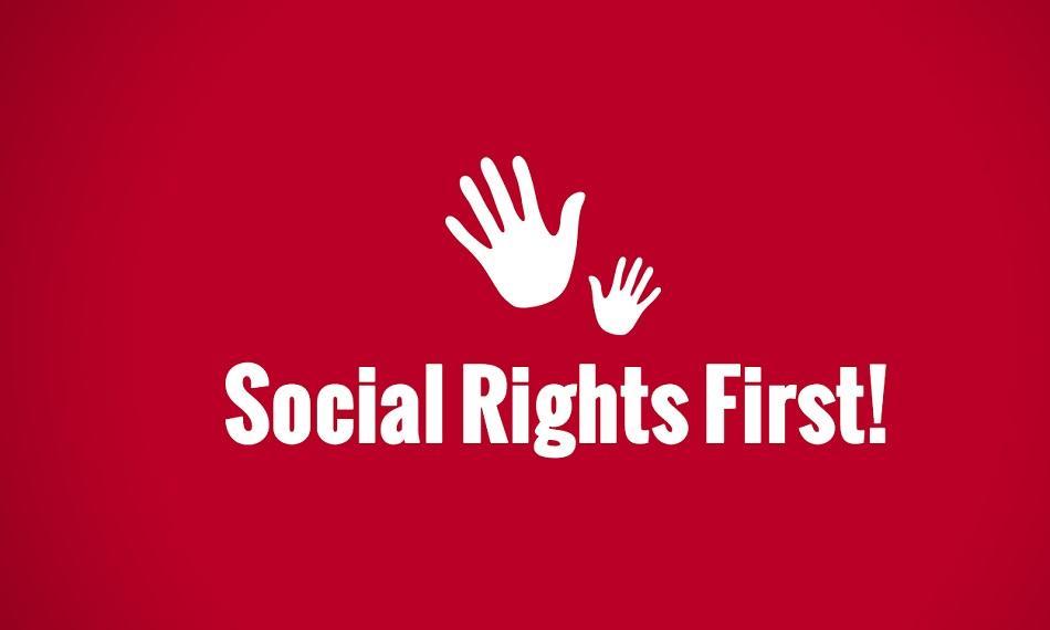 Social Rights First logo