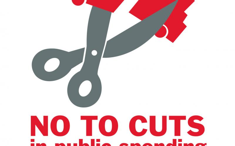no to cuts