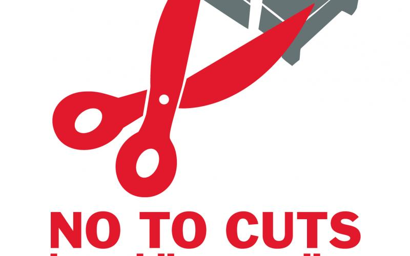 no to cuts health