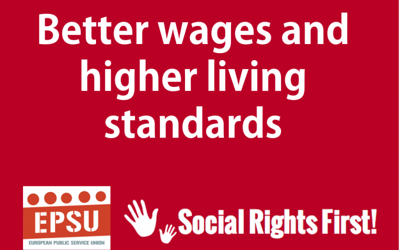 Social Rights First campaign - EPSU EN