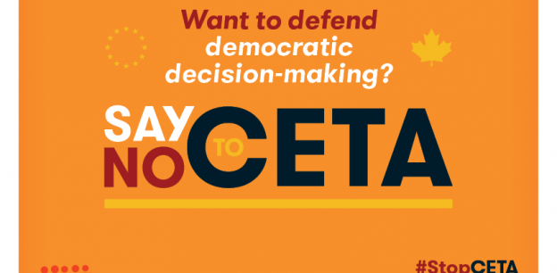 EPSU campaign No to CETA - democratic decision-making