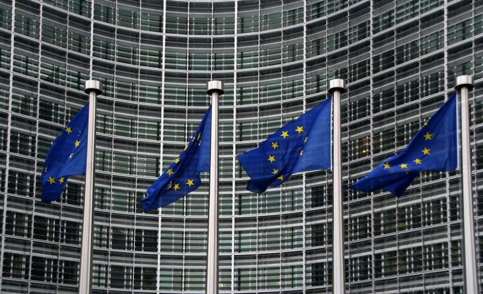 @canStock photo jank1000 European flags Berlaymont