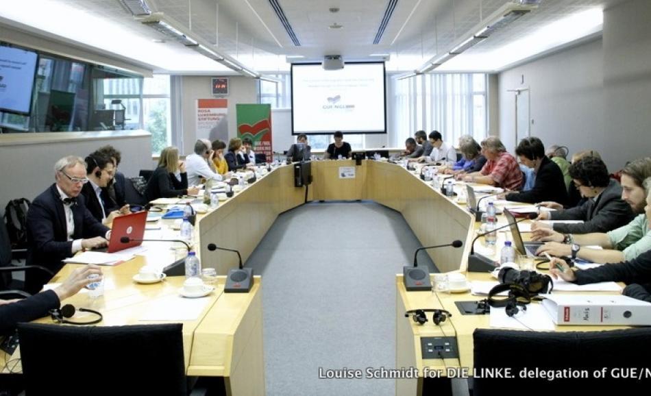 GUE Energy  workshop in EP 27 June 2016