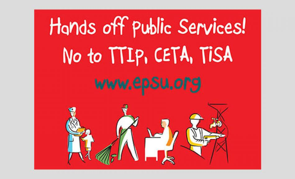 Update on TTIP and public services