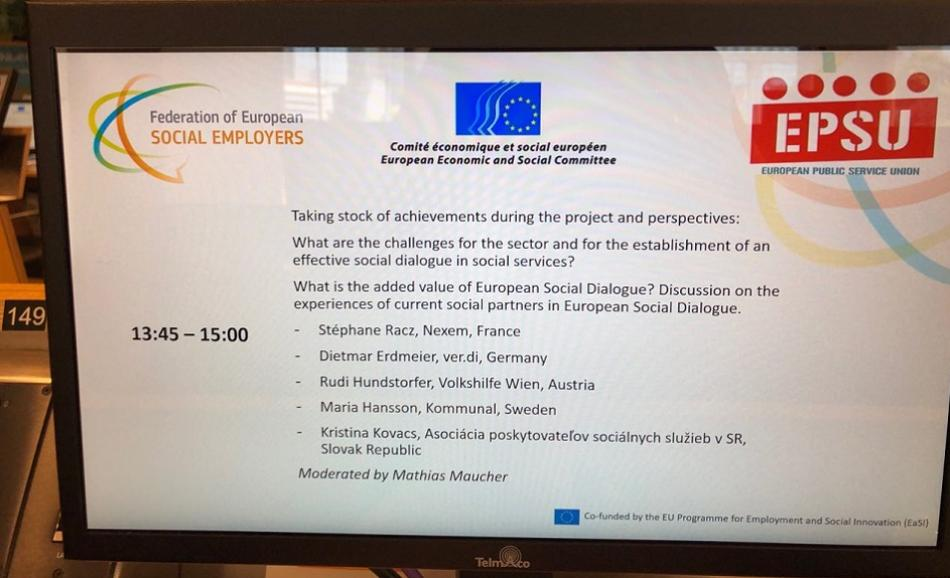 27 June 2019, final conference PESSIS+ project