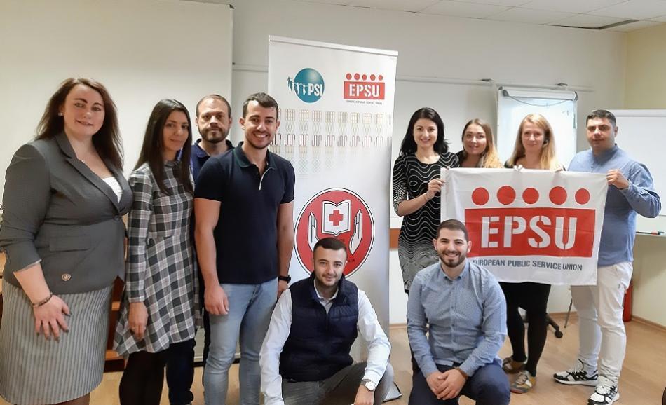 EPSU Youth Steering, Vilnius, 14 October 2019