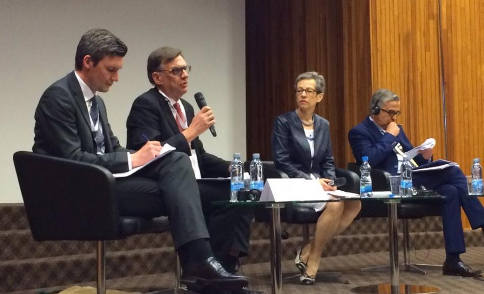 Mads Samsing, Chair of EPSU's local and Regional government Committee at CEMR Congress, 21 April 2016