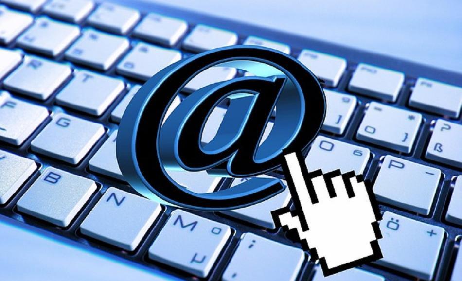 DIGITAL email keyboard