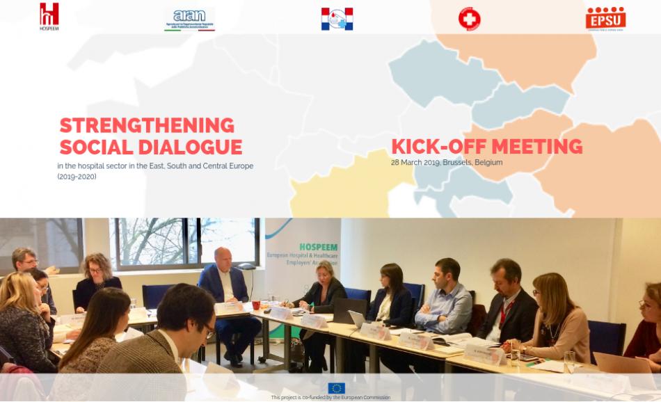EPSU-HOSPEEM Kick-off meeting