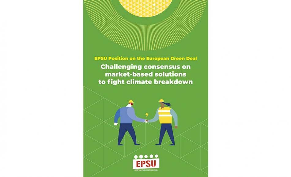 EPSU Position on the European Green Deal