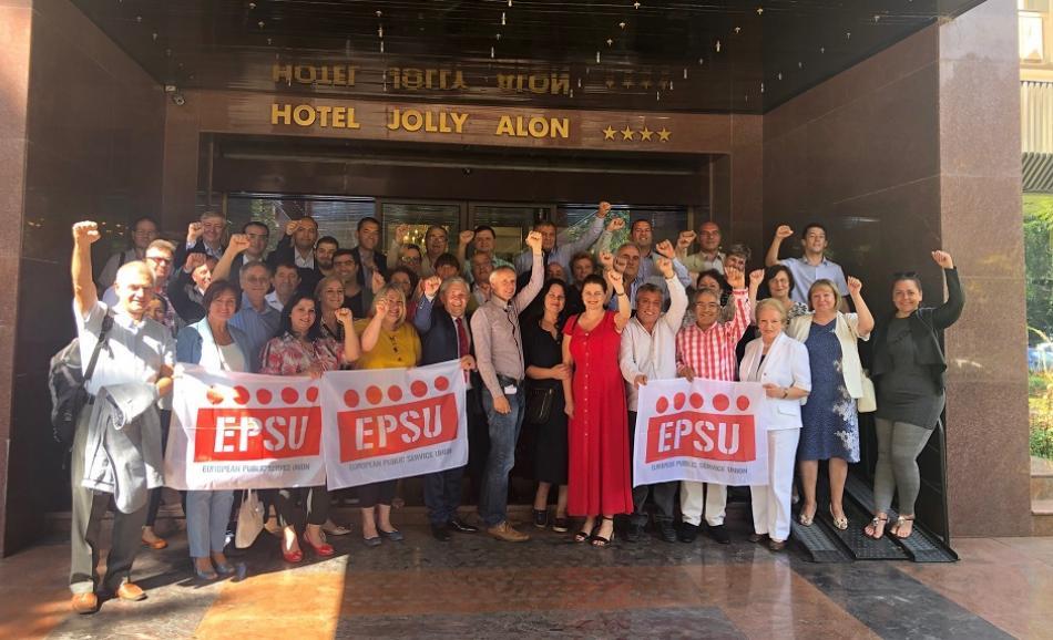 EPSU South East Europe Constituency meeting September 2019 Chisinau, Moldova