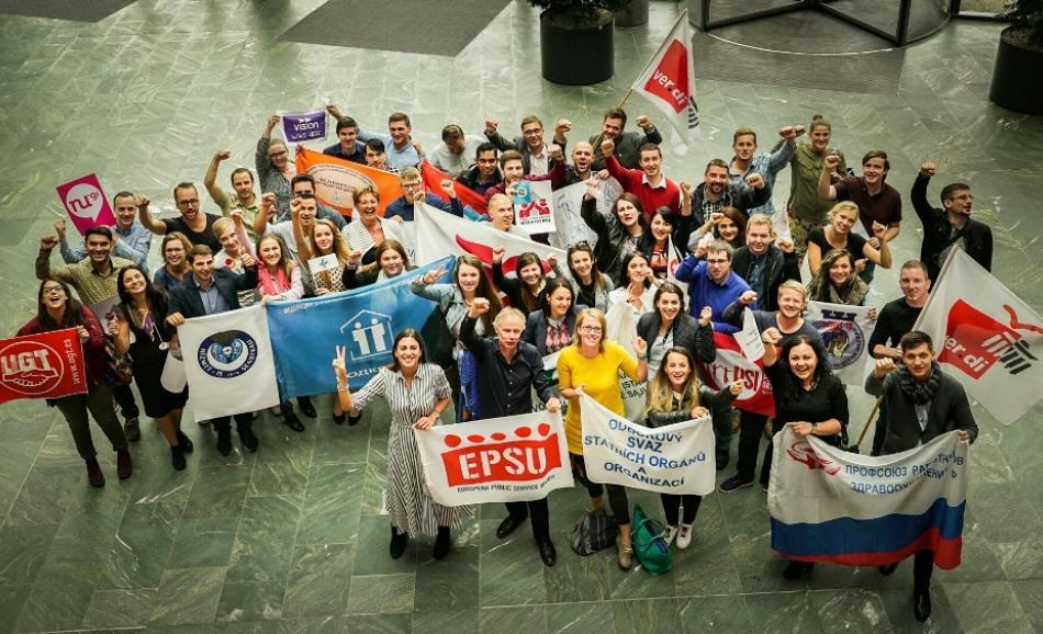 EPSU Youth meeting (solidarity, Ver.di) 08092017, Berlin