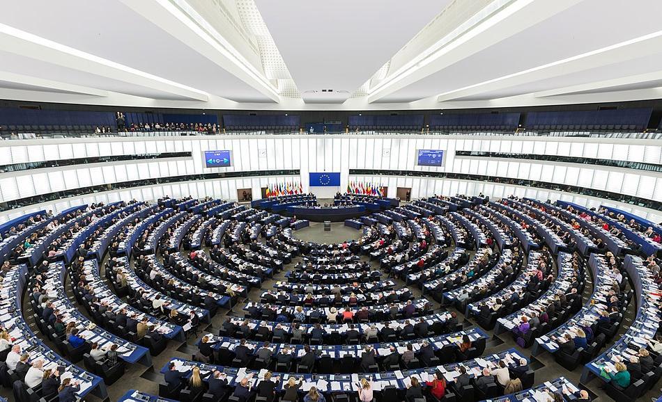 EP_Strasbourg_Hemicycle_WikiMediaCommons attribution Photo by DAVID ILIFF. License CC-BY-SA 3.0