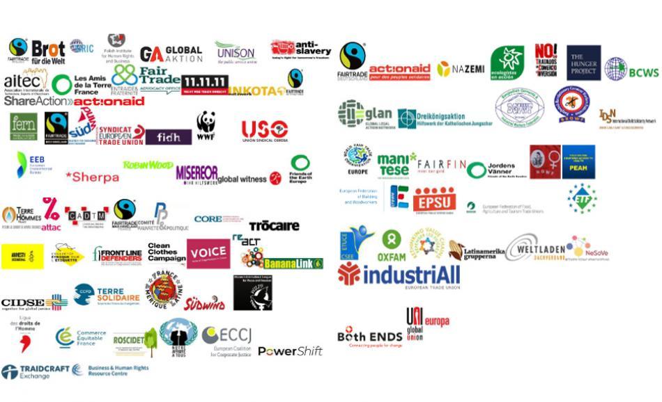 Civil society organisation call for EU human rights and environmental due diligence legislation