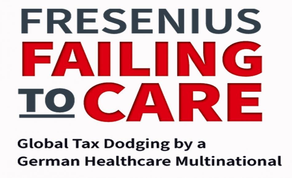 Fresenius tax report cover logo