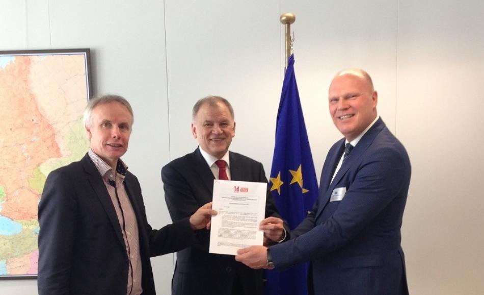 EPSU-HOSPEEM Meeting with Commissioner Andriukaitis