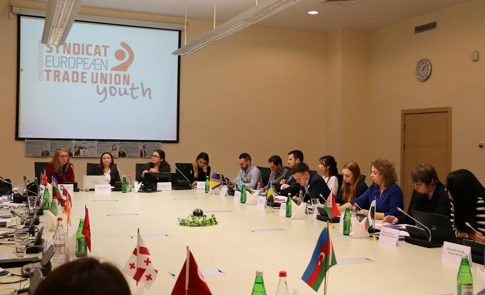 ITUC PERC Youth Committee meeting, Baku, 6 and 7 November 2017