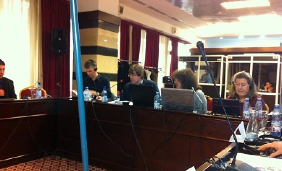 Dr. Steve Shelley, Mathias Maucher, Marina Irimie, Dr. Odile Frank