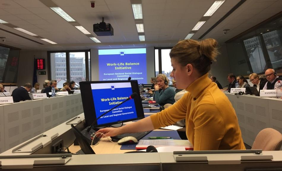 Social Dialogue Plenary Meeting on Local and Regional Government on 10 November 2017 in Brussels