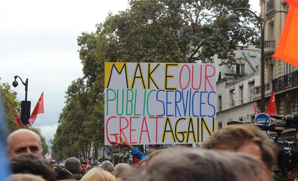 Make our Public Services great again