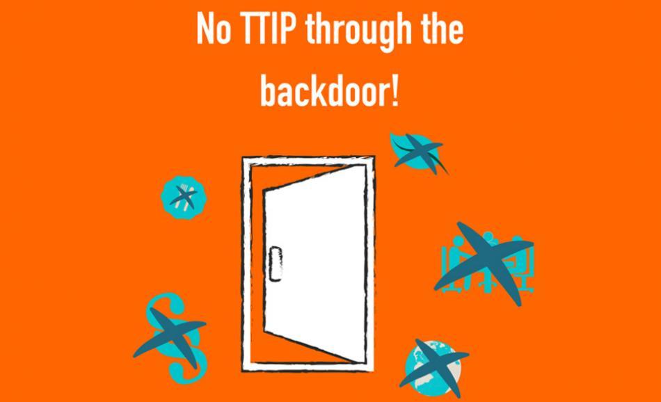 No TTIP through the back door