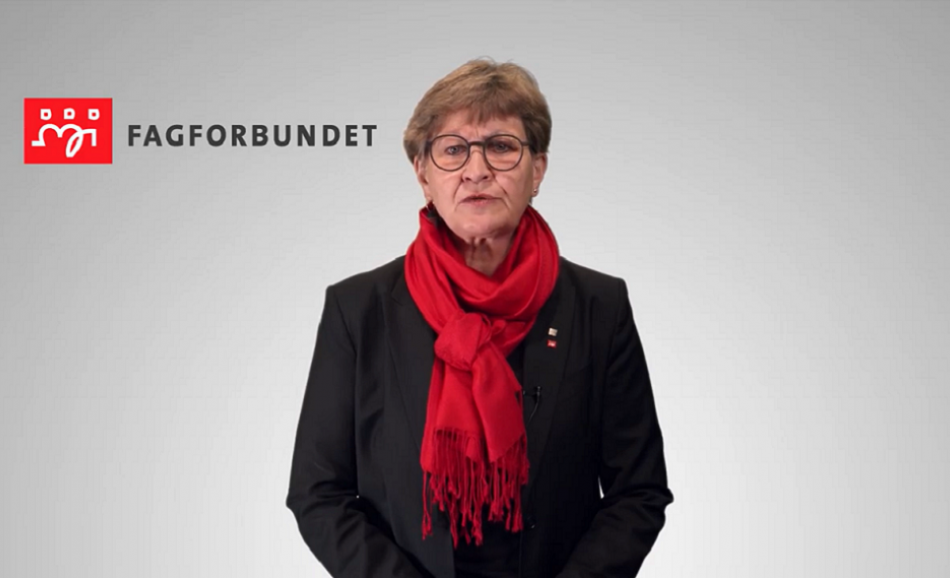 1st May - message of solidarity from EPSU President Mette Nord