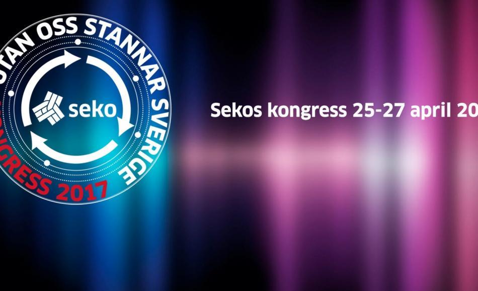 Congress of the Swedish union SEKO - 25-27 April 2017