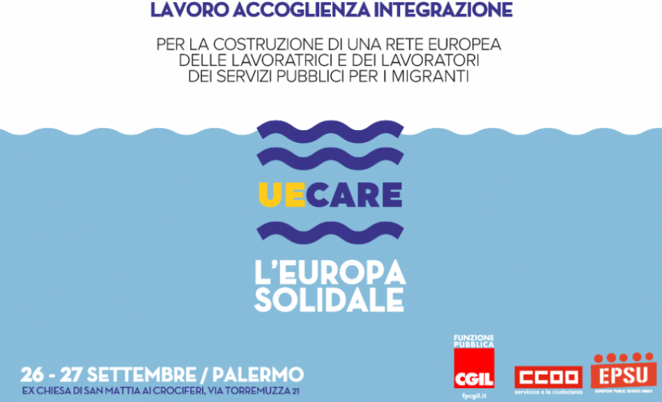 UE CARE L'EUROPA SOLIDALE Palermo 26-27 September 2018 MIgration seminar