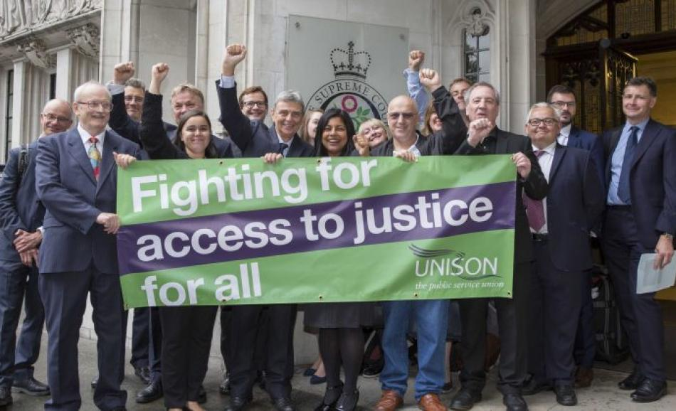 UNISON - fighting for access for justice for all