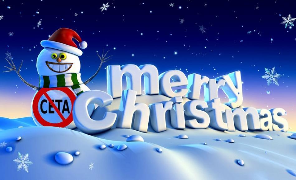 Christmas snowman CETA