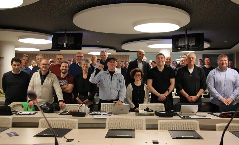 EPSU Firefighters network meeting December 2018