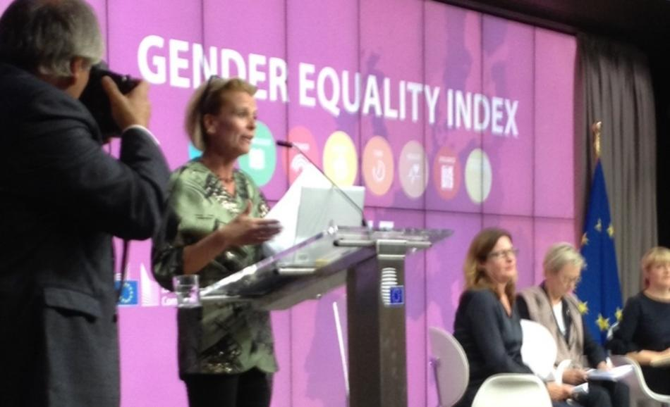 EIGE launched the Gender Equality Index (GEI) 2017