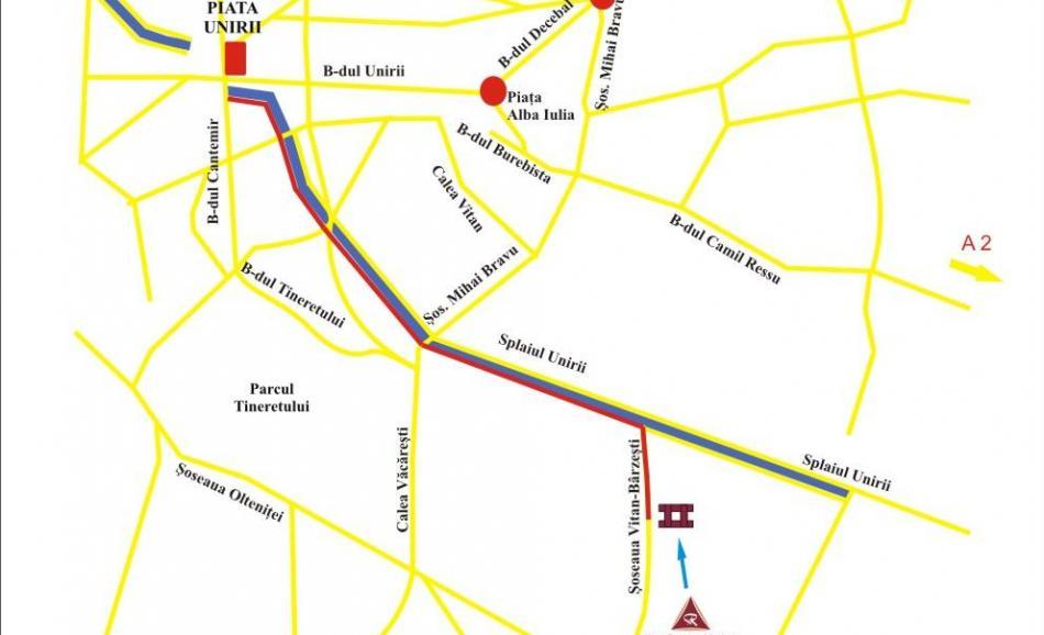 Harta localizare hotel RIN