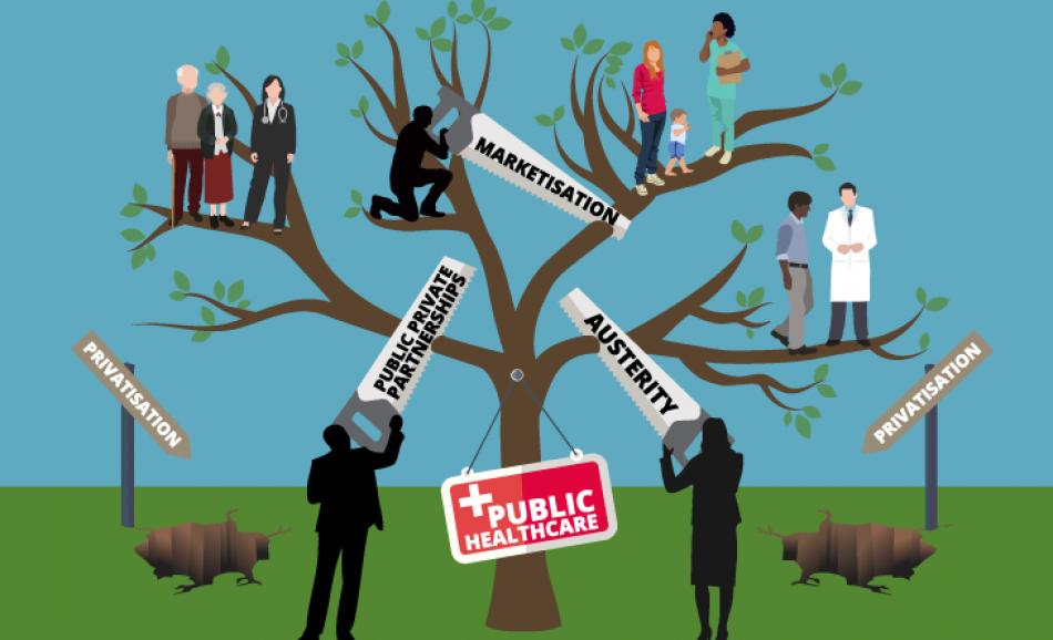 Healthcare privatisation Corporate Europe paper June 2017