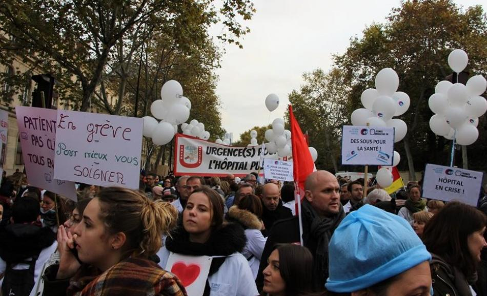 Protest pension reforms in France, 5 December 2019
