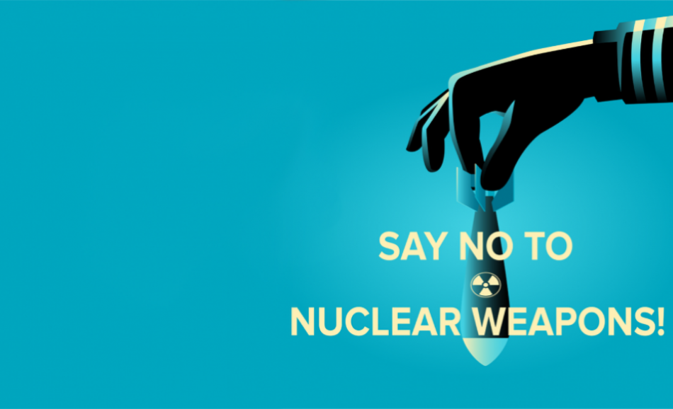 say no to nuclear weapons