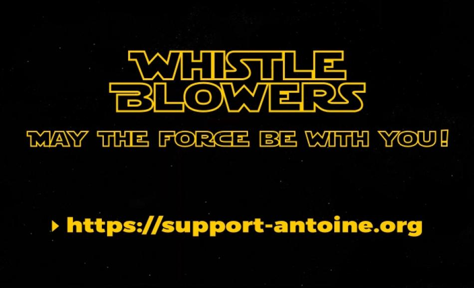 Whistleblowers - May the Force be with you logo