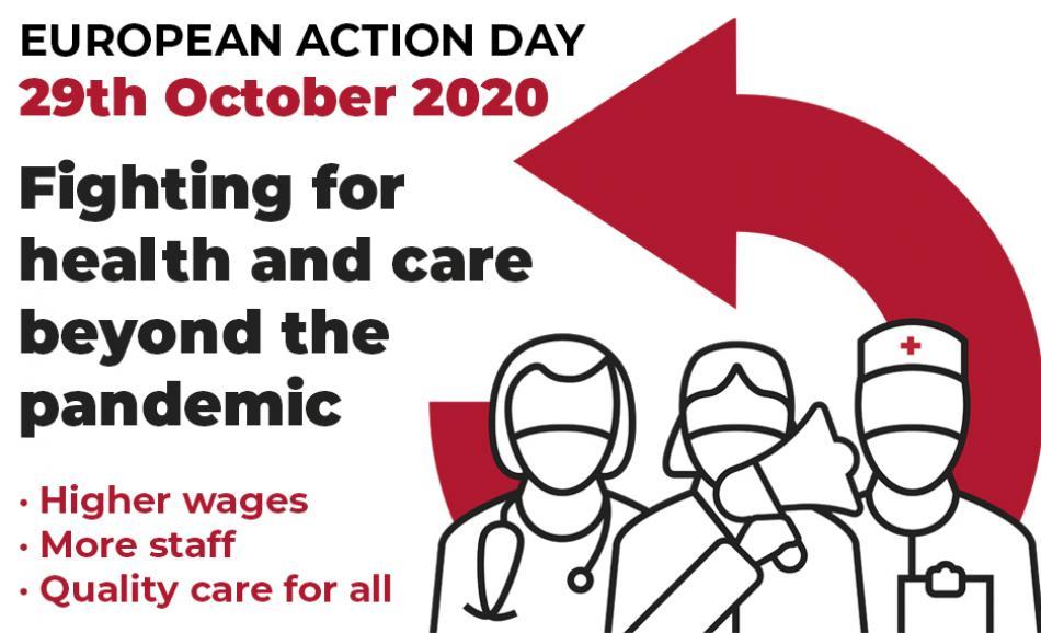 health action week 2020 EPSU logo