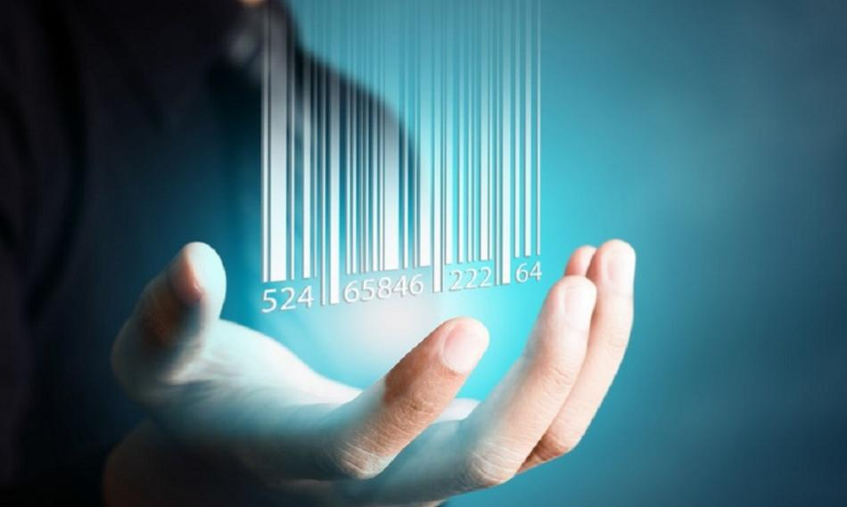 ©CanStockPhoto  ShutterM Bar Code dropping hand