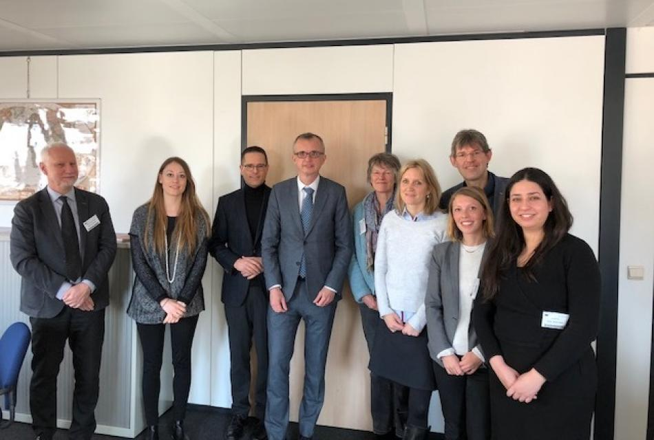 03.01 EPSU & DG GROW meeting EU-level standardisation in health care
