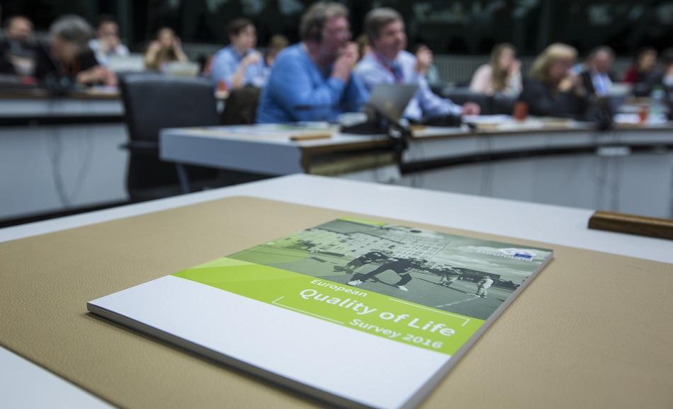 EUROFOUND report European Quality of Life survey